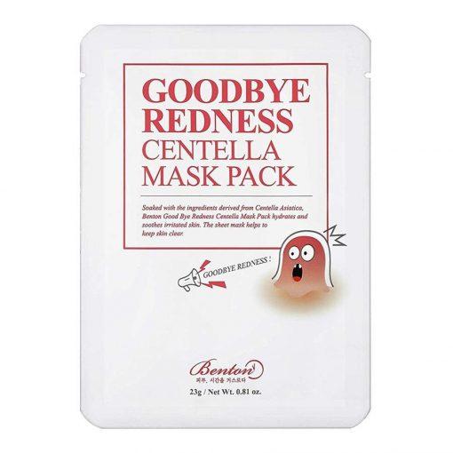 Benton Goodbye Redness Centella Mask Nyugtató Maszk Ázsiai Gázlóval