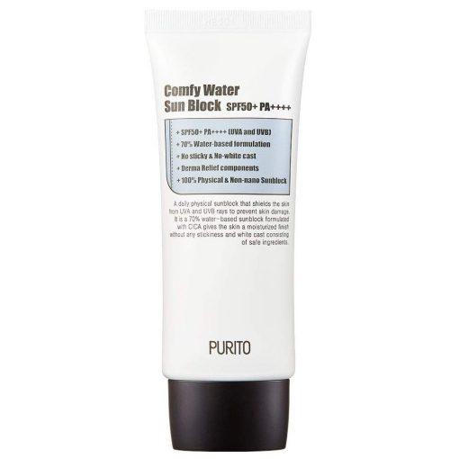 Purito Comfy Water Fizikai Fényvédő